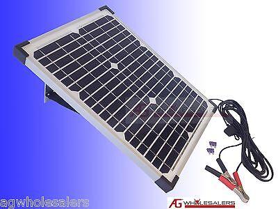 20W 12V SOLAR PANEL & REGULATOR -BOSCH GERMAN CELLS- CHARGER PORTABLE WATT 10 40