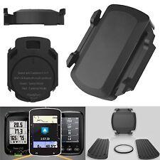 Cycling ANT+ Bluetooth Wireless Speed Cadence Sensor For Garmin Bryton Bike GPS