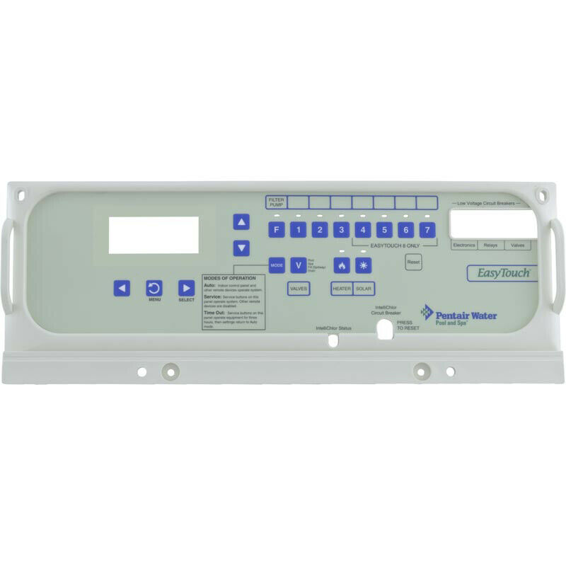 Pentair 520656 EasyTouch al aire libre placa frontal de panel de control
