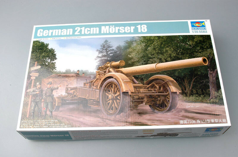 Trumpeter 1 35 - German 21cm Morser 18 Heavy Artillery - 21cm Kit 135 Tr02314