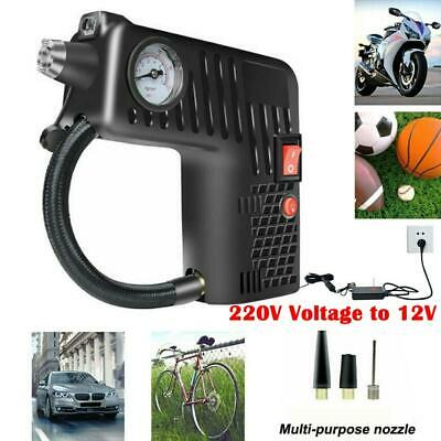 12V Portable Air Compressor Tyre Inflator Handheld LCD Car Tire Pump Bike Ball