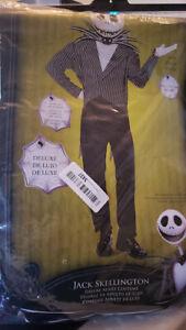 Jack-Skellington-Adult-Halloween-Costume-XL-NEW-ONLY-MISSING-MASK