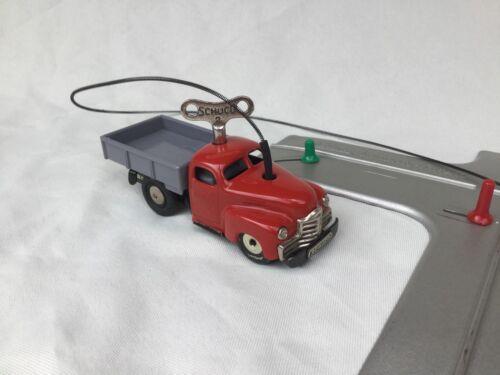 Schuco Varianto 3042 Lasto mit Schlüssel no 2 Wire & Kreuzung