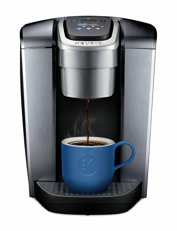 Keurig K-Elite K90 Single Serve café Maker-argent brossé