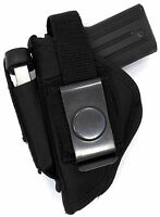 Usa Made Owb Belt Slide Or Clip-on Thumb Break Holster For Amt Backup 380 38