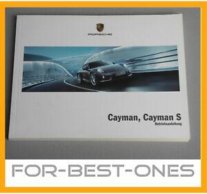 NEU-Porsche-Cayman-Cayman-S-981-981c-Betriebsanleitung-Bedienungsanleitung