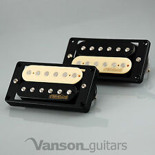 NEW Wilkinson 'HOT' ZEBRA Humbucker Pickup SET for Gibson, Epiphone ®* MWHZ BK
