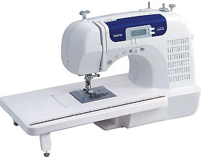 NEW BROTHER CS-6000i COMPUTERIZED SEWING MACHINE & 60 STITCH QUILTING EMBROIDERY