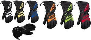 FXR-034-FUEL-034-GLOVES-SNOWMOBILE-REFLECTIVE-WATERPROOF-MENS-CHOOSE-SIZE-amp-COLOR