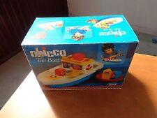 CHICCO TUB-BOAT  BARCA 2-5 ANNI LANARD NUOVO VINTAGE ANNI 70