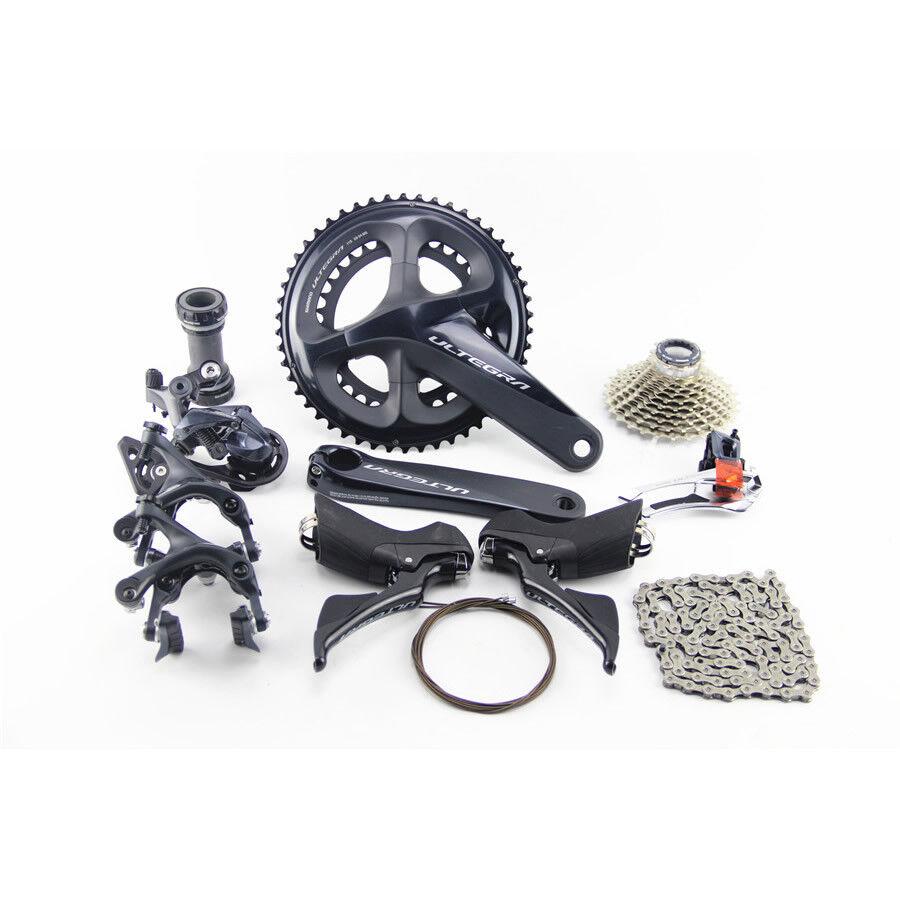 Shimano Ultegra R8000 Road Bike Full Groupset 2x11S 170172.5175mm 343639T