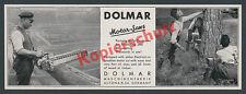 Dolmar Motorsägen Forstwirtschaft Holz Handwerk Maschinenbau Hamburg Altona 1935