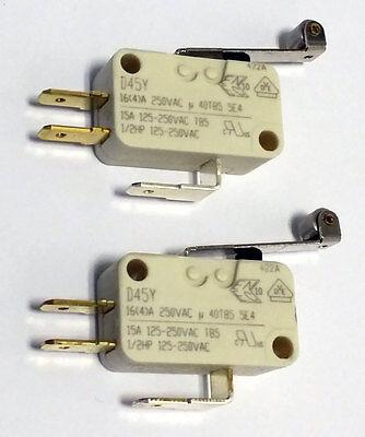 2x Mikroschalter D45y Von Cherry, 16a, 250vac, Wechsler, Neu! Auswahlmaterialien