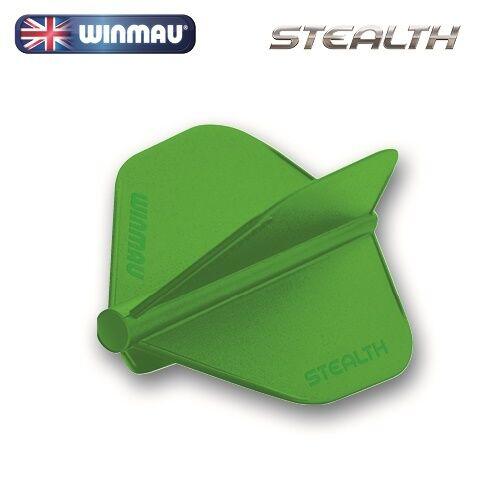 WINMAU STEALTH  STANDARD SHAPE FLIGHTS   GREEN...