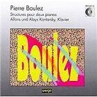 Pierre Boulez - Boulez: Structures pour deux pianos (1992)