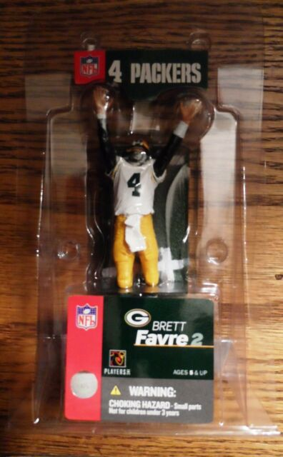 2004 Mcfarlane Bret Favre Green Bay Packers 3-Inch Action Figure