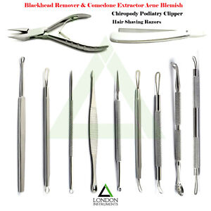 Blackhead-Remover-amp-Comedone-Extractor-Pore-Cleaner-Beauty-Salon-Instruments-NEW