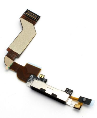 OEM-Black-Charger-Charging-Port-Dock-Connector-Flex-Cable-Ribbon-For-iPhone-4S