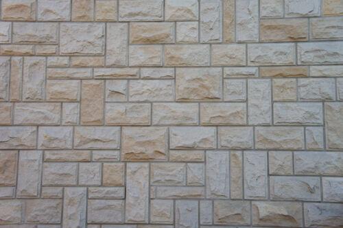 2 SATZ  12 STUCK Formen für Pflaster betonform STEINFASSADE