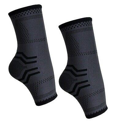 1 Paar Bandage Fussgelenk Knöchelbandage Fußbandage Stütze Verband Sprunggelenk