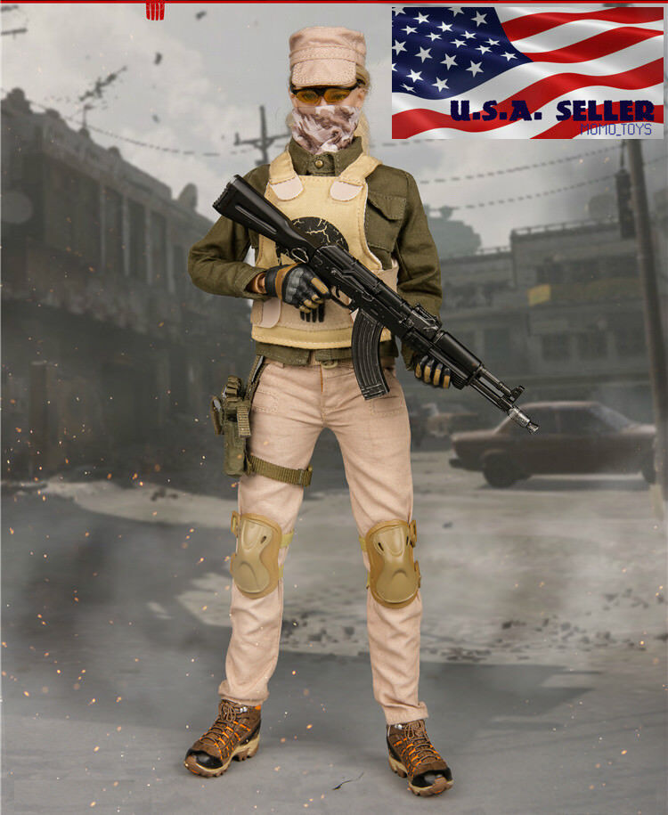1/6 Tactical Combat Clothing Set B For 12