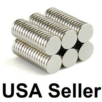 "500 1//4/"" by 1//16/"" or 6mm by 1.5mm Neodymium Disc Magnets Magnet"