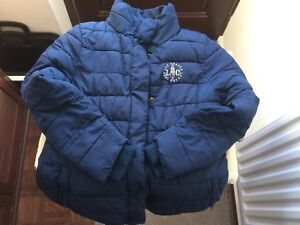 Lee-Cooper-Kids-Navy-Hips-Coat-Zip-With-Inside-Fur-Very-Nice-Size-13-Yrs