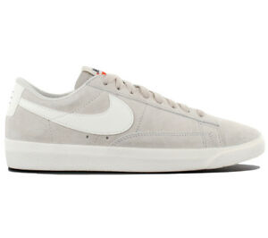 c34b096915d36 Nike Blazer Low Suede Sd Ladies Sneaker Shoes Leather Beige AA3962 ...