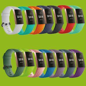 2019 Neuer Stil Hochwertiges Kunststoff / Silikon Uhr Armband Für Fitbit Charge 3 Zubehör Neu