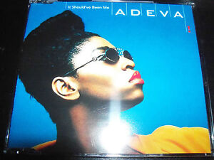 Adeva-It-Should-Have-Been-Me-Rare-UK-CD-Single