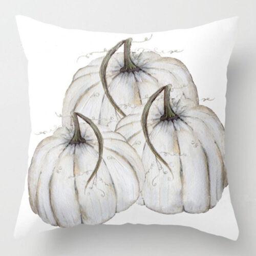Flowers Pillows Cover Fall Decor Pillowcase Sofa Waist Throw Cushion Cover