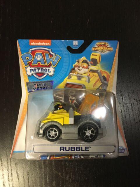 Paw Patrol PAT PATROUILLE True Metal Ruben rubble mighty pups