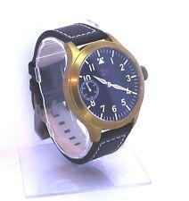 TC-9 Pilot Watch Seagull 6497 brass and Titanium.