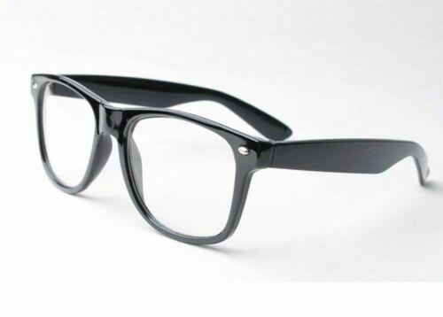 Black School Geek Clark Kent Hero Austin Powers Secretary Glasses Fancy Dress