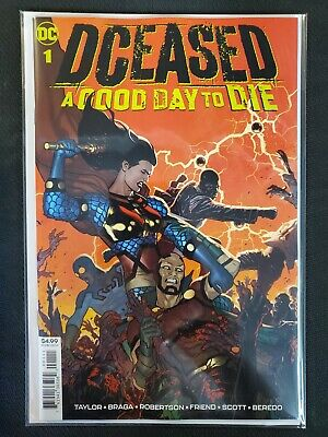 DCeased A Good Day to Die #1 D Cover DC NM Comics Book