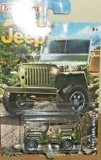2016 Matchbox US Army '43 Jeep Willys Diecast 4+ Thailand Boys & Girls