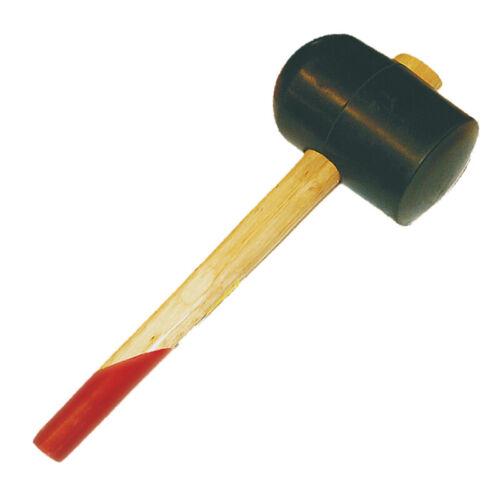 Gummihammer mit Holzstiel 90mm 1200g Pflasterhammer Schonhammer