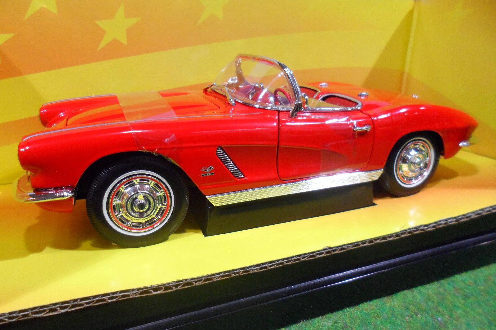 CHEVROLET CORVETTE cabriolet 1962 1 18 18 18 AMERICAN MUSCLE ERTL 7835 voiture miniatu 8523c2
