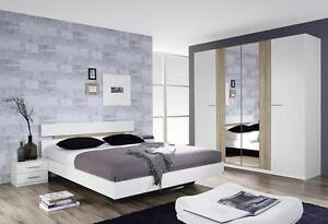 Rauch-039-Almada-039-Range-German-Made-Bedroom-Furniture-White-with-San-Remo-Oak