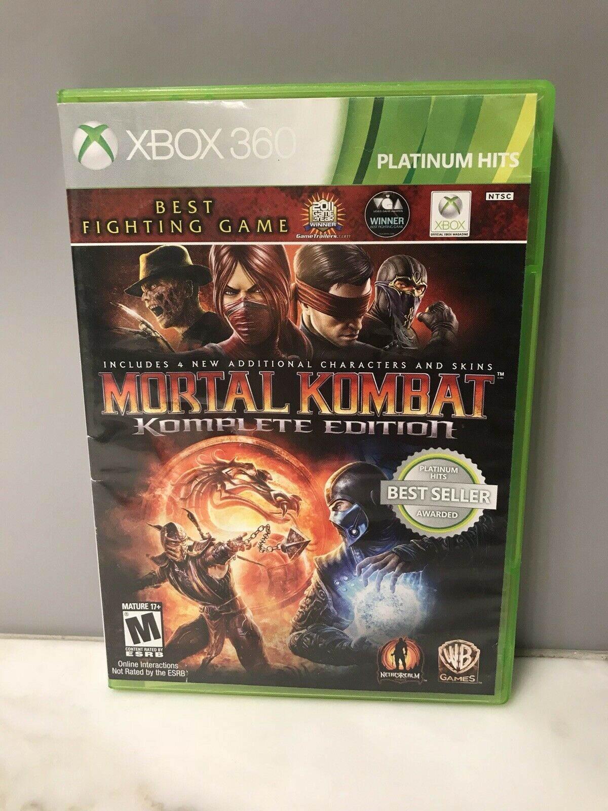 babality mortal kombat komplete edition xbox 360