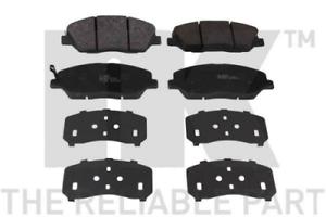 Plaquette de Frein Disques plaquette de frein la construction Klötzer Brake pads avant NK 223427