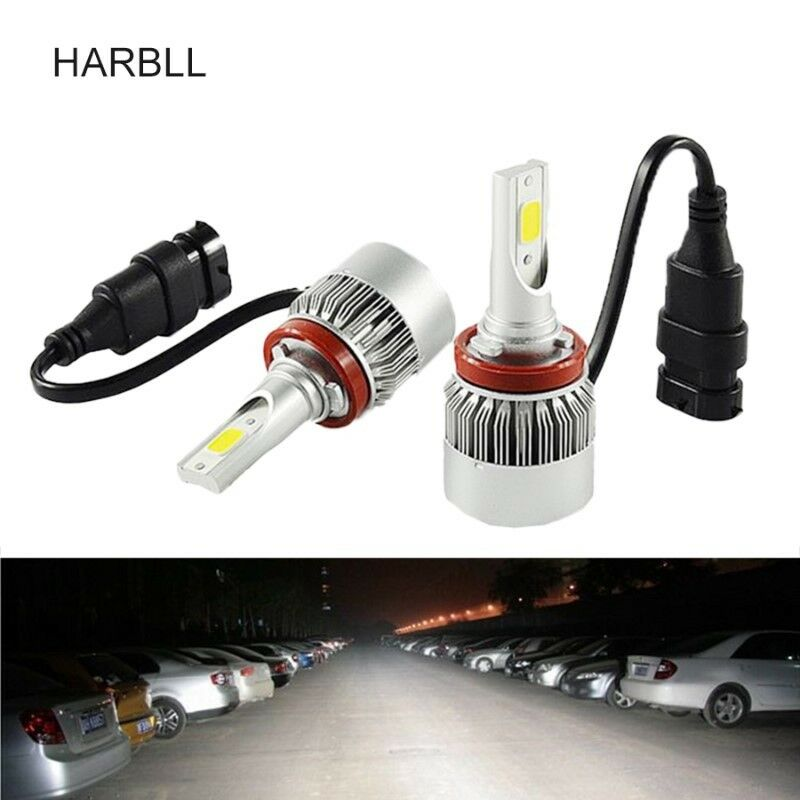 LED CAR HEADLIGHT REPLACEMENT BULBS - Available in H1 , H3 , H4 , H7