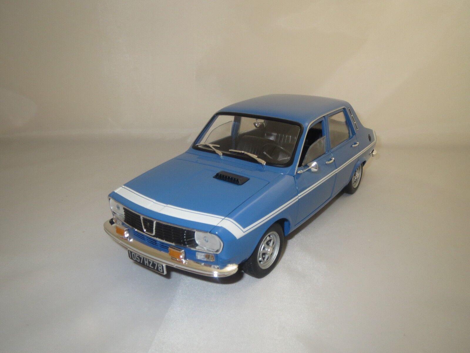 Solido renault 12 Gordini (blu) 1 18 sin embalaje