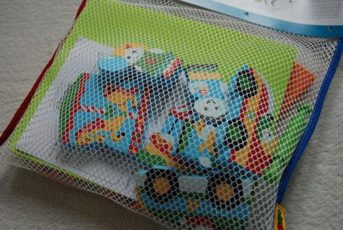 Edushape Floating 3D Amusement Park Ferris Wheel Pony Creative Bath Toy 15 PCS