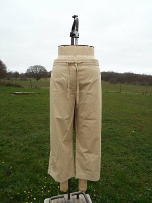 CASUAL COMFORT Embellished Olive Cotton Cargo Pants Trousers Plus Size 20 BNWT