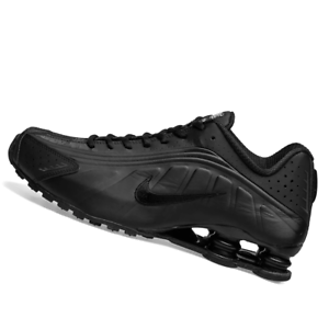 NIKE-MENS-Shoes-Shox-R4-Black-amp-White-104265-044