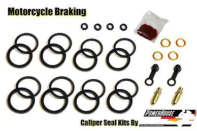 Yamaha FZR 1000 EXUP 1989 1990 89 90 front brake caliper seal kit