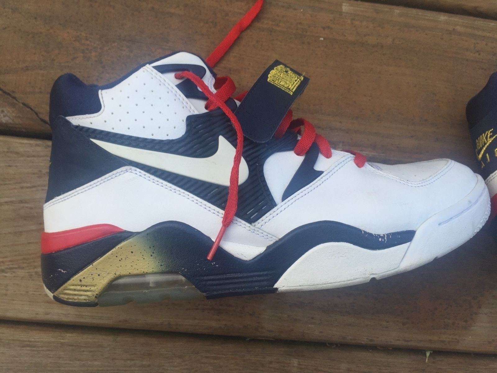 Brand discount Nike Air 180 Barkley Shoes - Olympic Edition - Comfortable