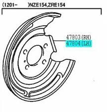 TOYOTA Genuine 47882-17010 Disc Brake Dust Cover