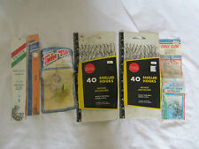 BRAND NEW VINTAGE LOT OF 7  FISHING HOOKS SNELLED HOOKS TWIN T'S EAGLE CLAW